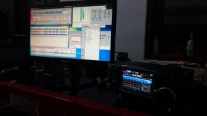 IC 7300 for CQ WPX CW Contest