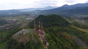 Gunung Malang at Distance